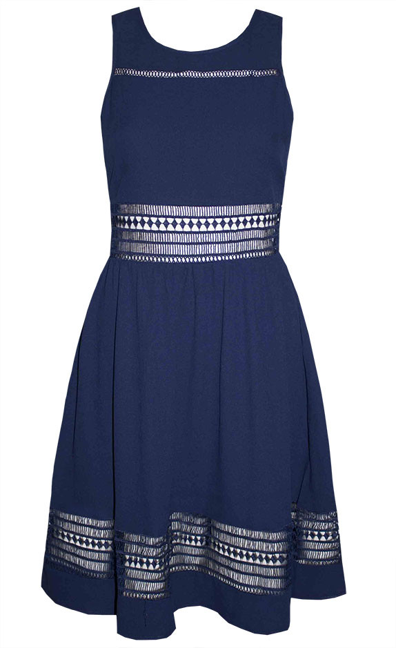 by Little Party Dress Allie Navy Lace Dress