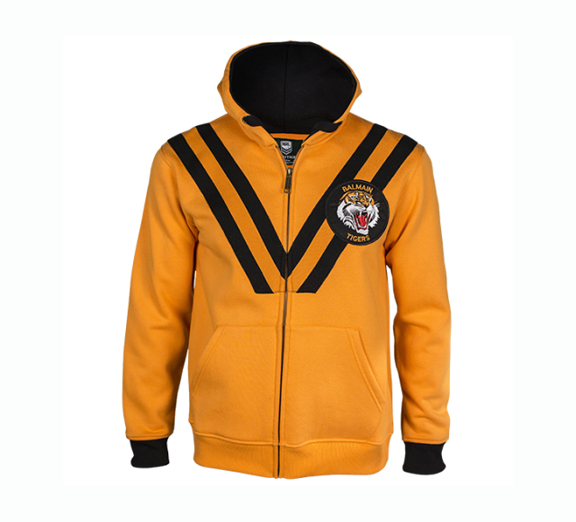 by Classic Balmain Tigers Youth Heritage Hoodie