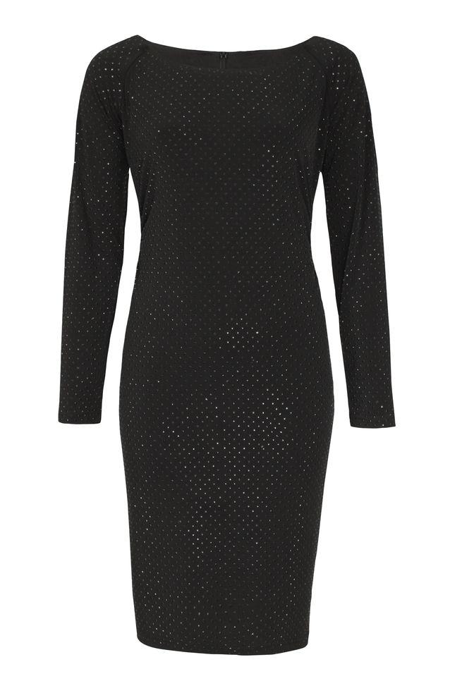 by Queenspark Black Body Con Dress