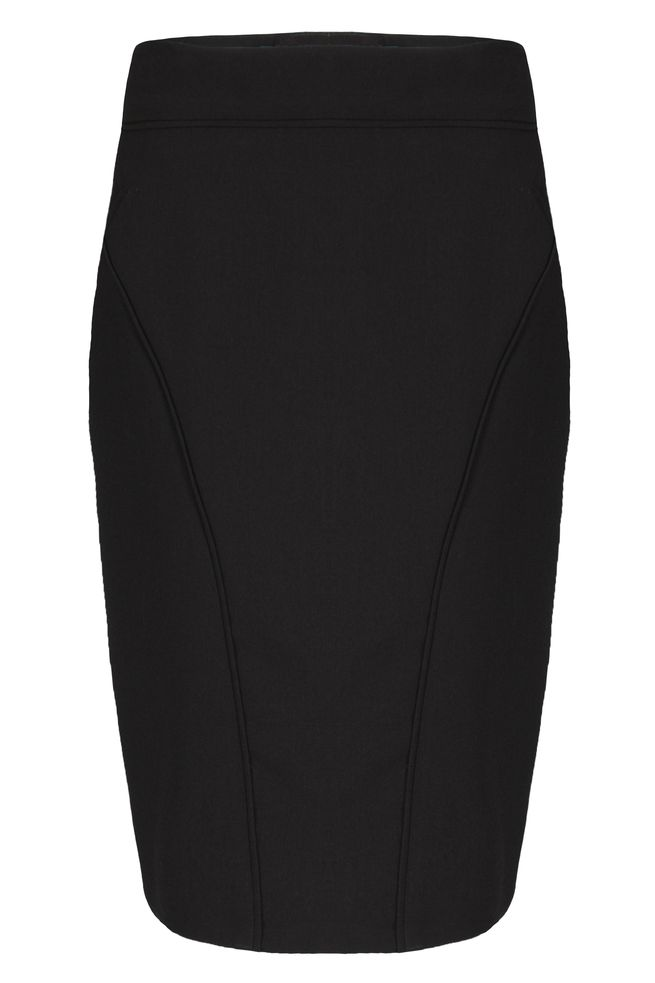 by Queenspark Black Panel Skirt