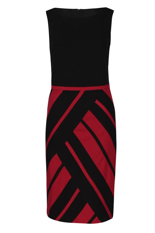 by Queenspark Black Stripe Dress