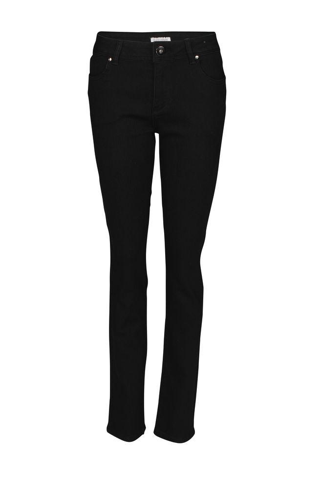 by Queenspark Black Tonal Embellished Jean