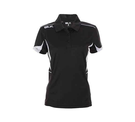 by BLK BLK Tek V Ladies Polo