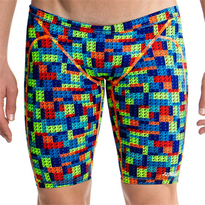 Jammer by Funky Trunks Block Party Mens/Boys Training Jammer