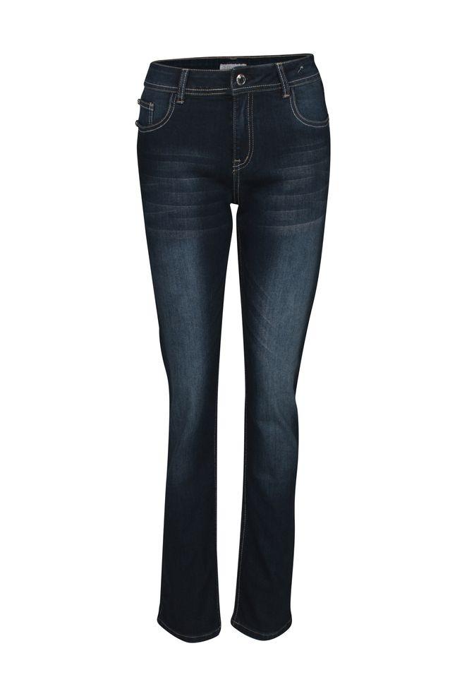by Queenspark Blue Diamond Patch Pocket Jean
