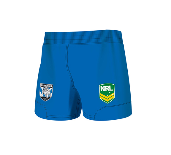 by ISC Canterbury Bulldogs Home Supporter Shorts 2 Pack