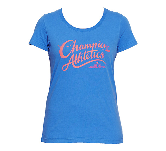 by Champion Champion Womens VT Authentic Script Tee