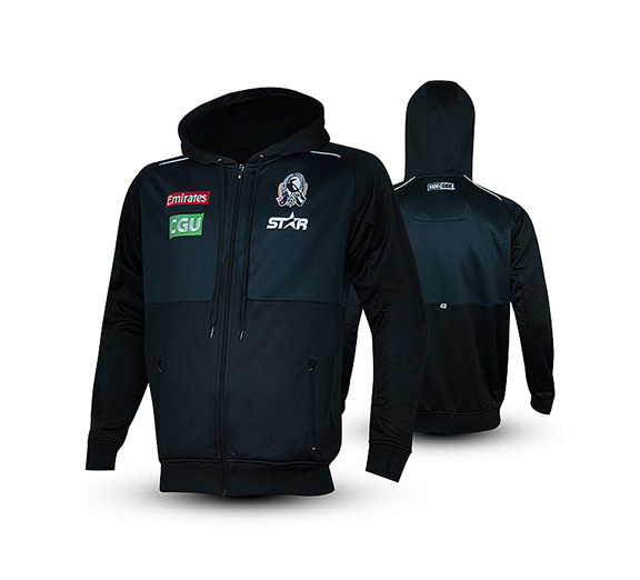 by Star Athletic Collingwood Magpies 2015 Players Hoodie Mens
