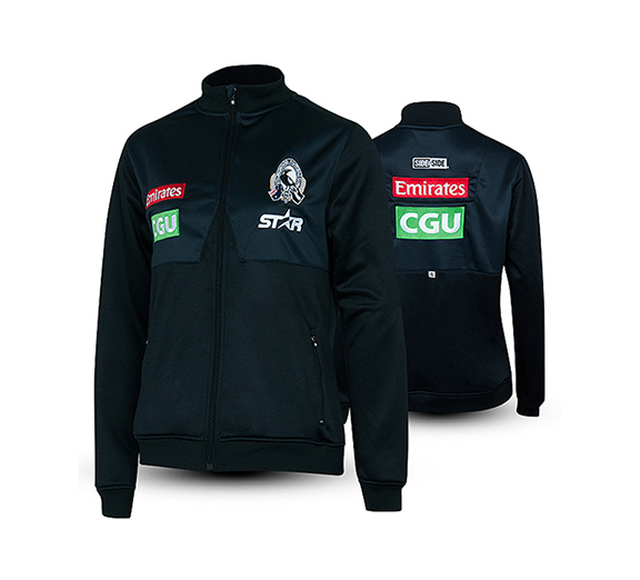 by Star Athletic Collingwood Magpies 2015 Womens Track Jacket