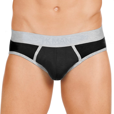 Brief by HK Man Cotton Low-Rise Mens Brief