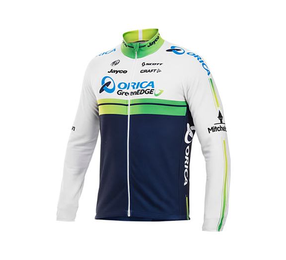 by CRAFT Craft Mens Orica GreenEdge Replica L/S Jersey