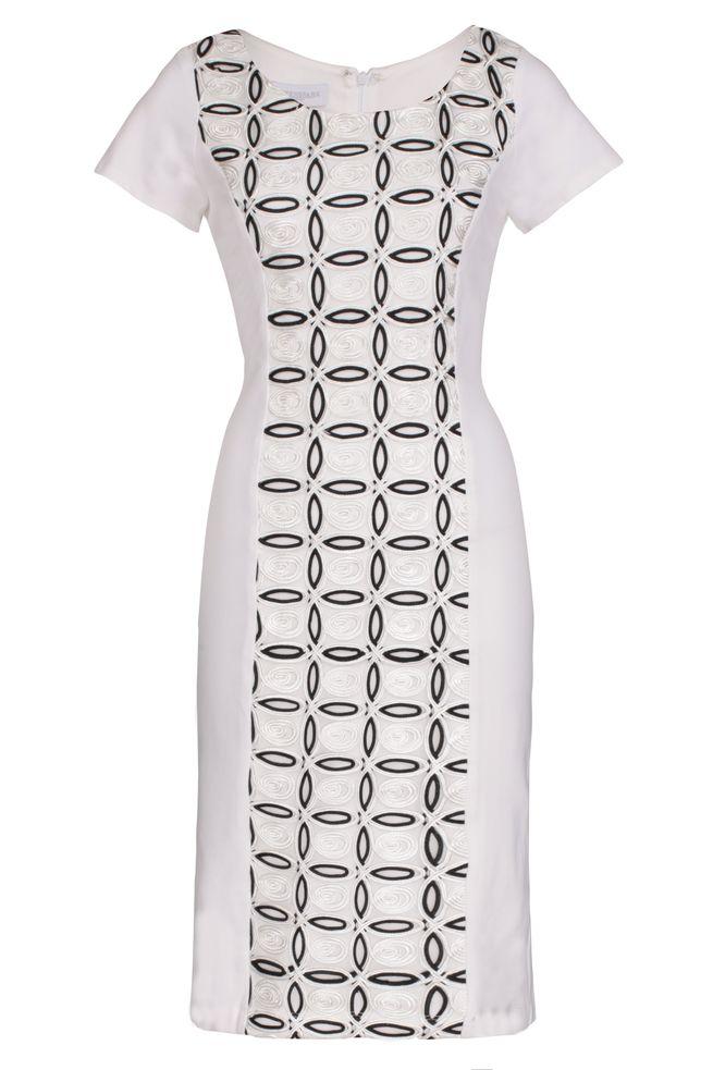 by Queenspark Cream Cornelli Lace Dress