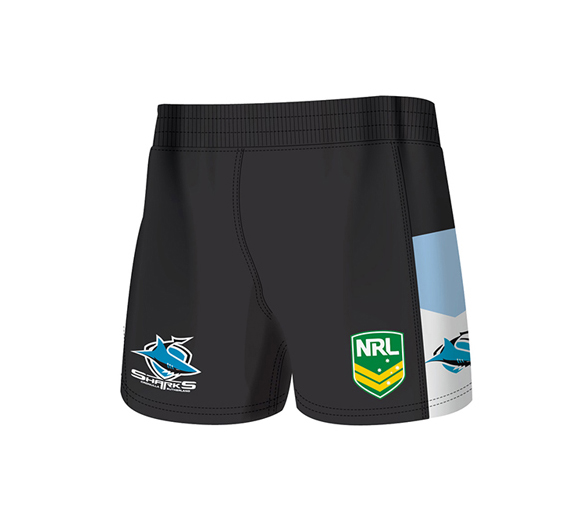 by ISC Cronulla Sharks Home Supporter Shorts 2 Pack