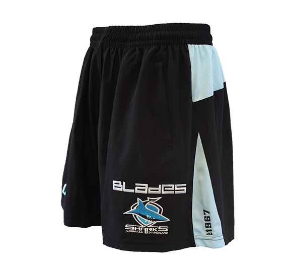 by Blades Cronulla Sharks 2015 Training Shorts