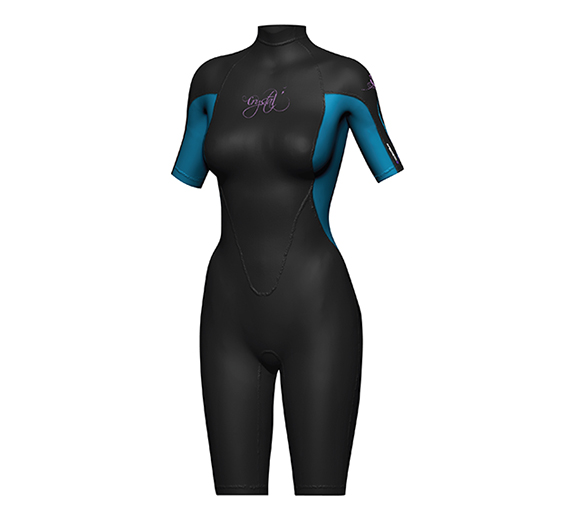 by Cape Byron Sports Crystal Womens Superstretch Spring Suit