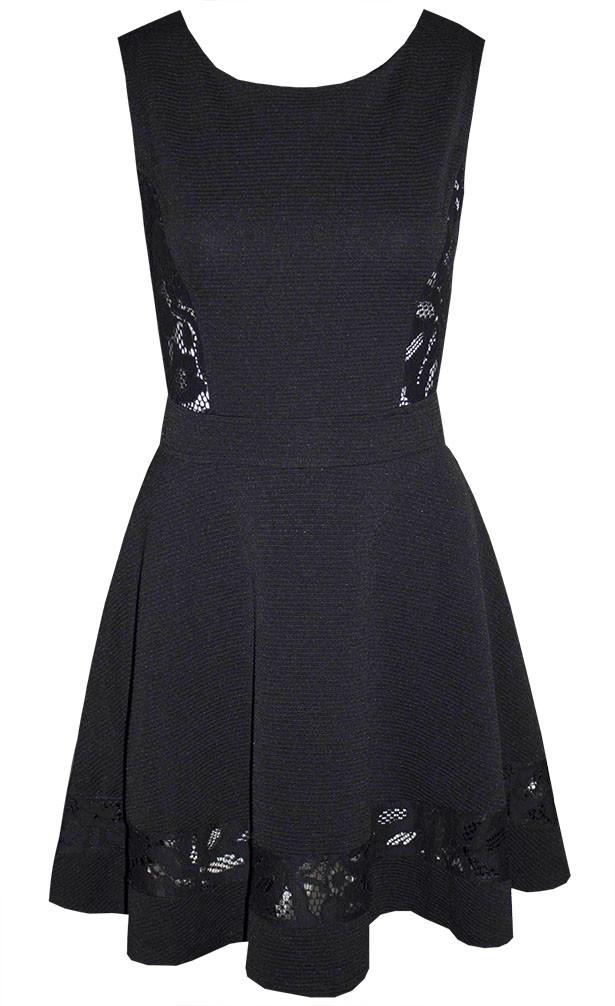 by Little Party Dress Dark Romance Black Lace Dress