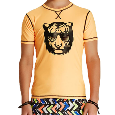 Rashie by Bond-Eye Boys Electric Tattoo Short Sleeve Rashie