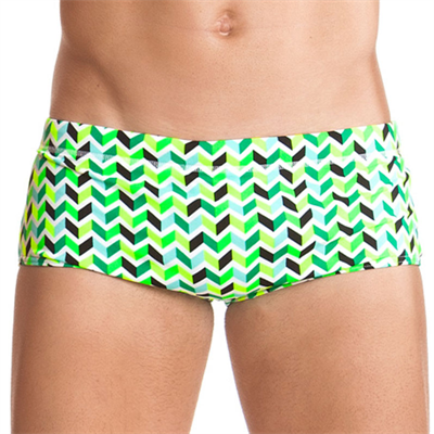 Piece by Funky Trunks Golden Arms Boys Printed Trunk