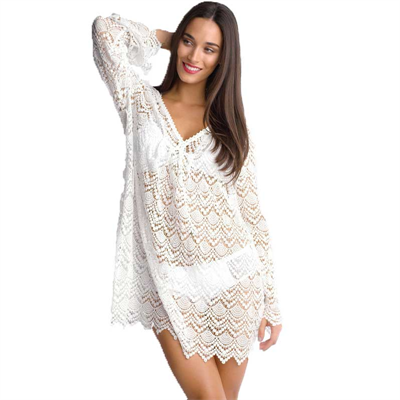 Piece by Isola by Megan Gale Indienne Lace Kaftan