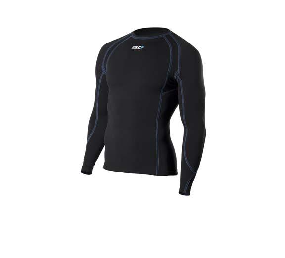 by ISC ISC Men's Compression Aqua Long Sleeve Top