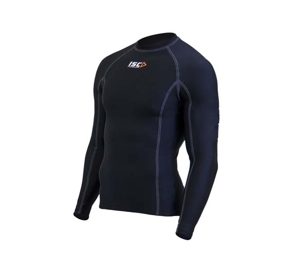 by ISC ISC Men's Compression Long Sleeve Top