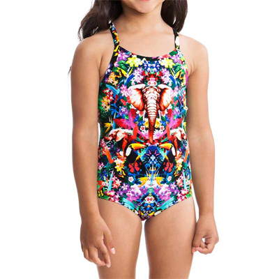 One Piece by Funkita Jungle Boogie Toddler Girls One Piece