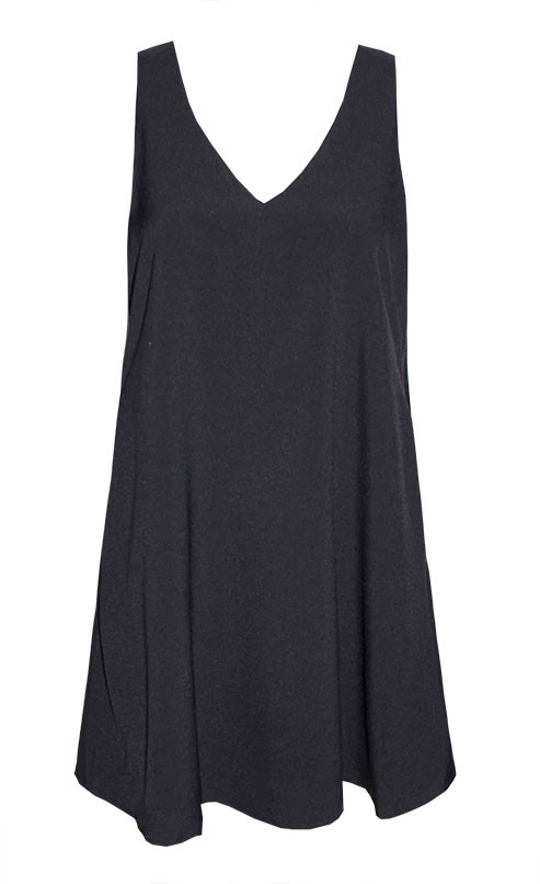 by Little Party Dress Lightning Black Cape Dress