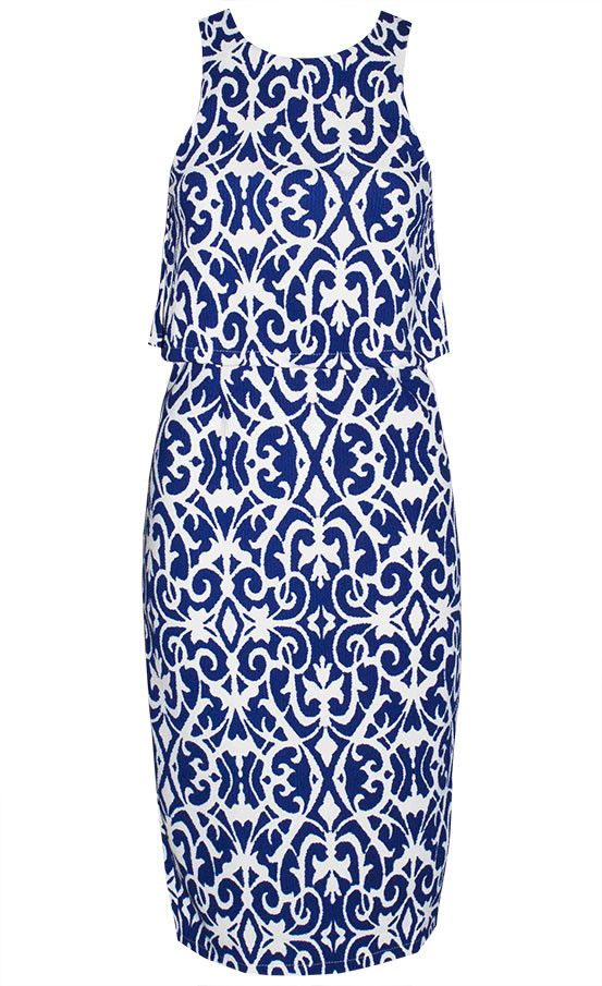 by Little Party Dress Londoner Blue Midi Dress