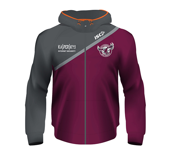 by ISC Manly Sea Eagles 2015 Ladies Tech Hoody