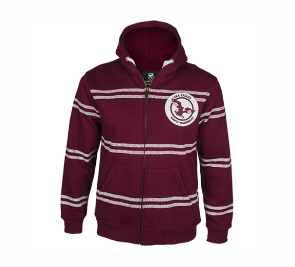 by Classic Manly Sea Eagles Mens Heritage Hoodie