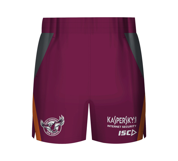 by ISC Manly Sea Eagles 2015 Training Short Maroon