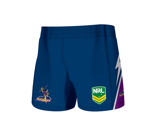 by ISC Melbourne Storm Home Supporter Shorts 2 Pack