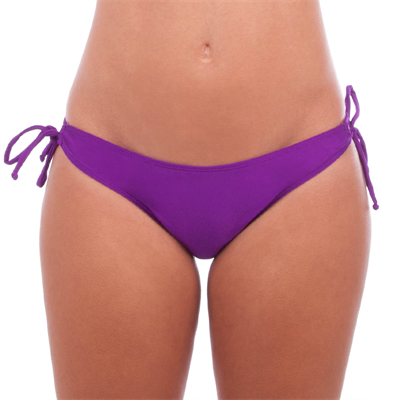 Pant by Achilles Mix n Match Violet Ruched Tie Side Pant