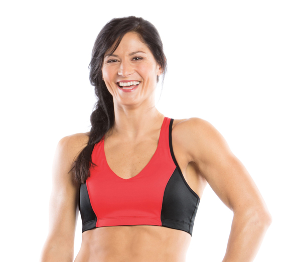 by Moving Comfort Moving Comfort Vixen Crop Punch C/D