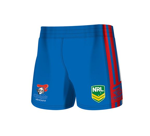 by ISC Newcastle Knights Home Supporter Shorts 2 Pack
