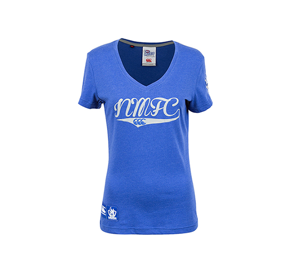 by Canterbury North Melbourne Kangaroos 2015 Supporter Tee Lady