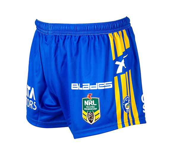 by Blades Parramatta Eels 2015 Home Shorts