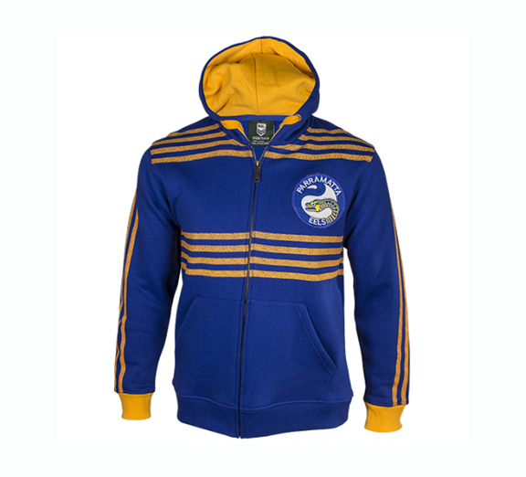 by Classic Parramatta Eels Youth Heritage Hoodie