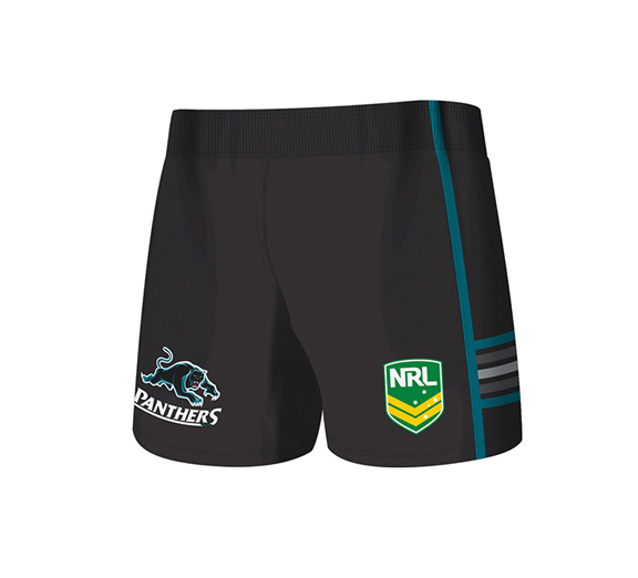 by ISC Penrith Panthers Home Supporter Shorts 2 Pack