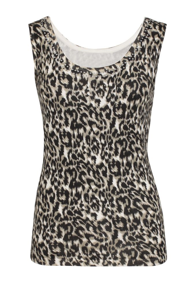by Queenspark Print Animal Cami