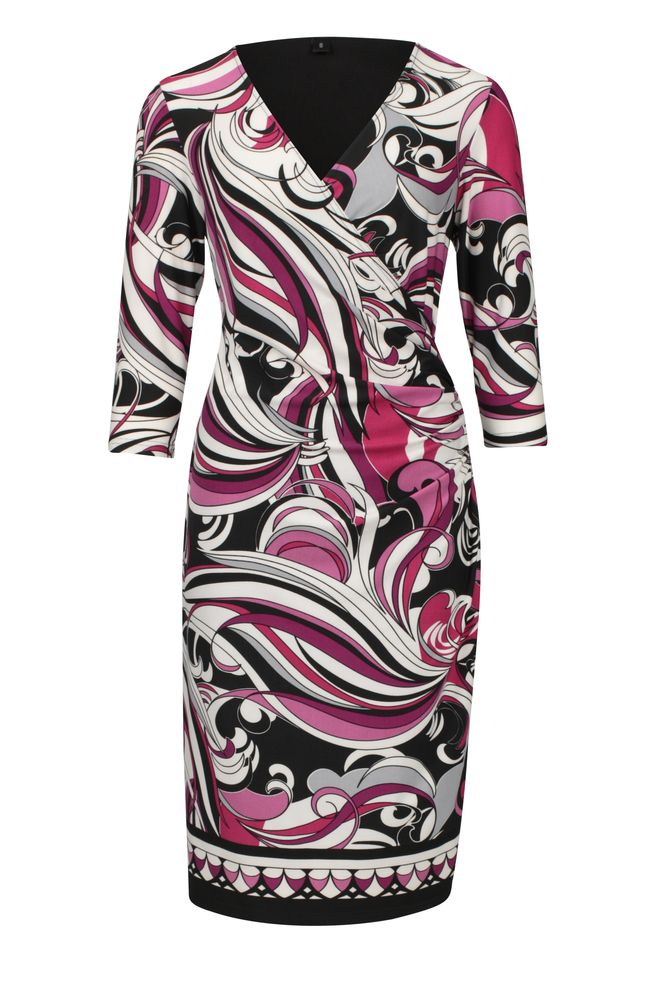 by Queenspark Print Chicago Dress
