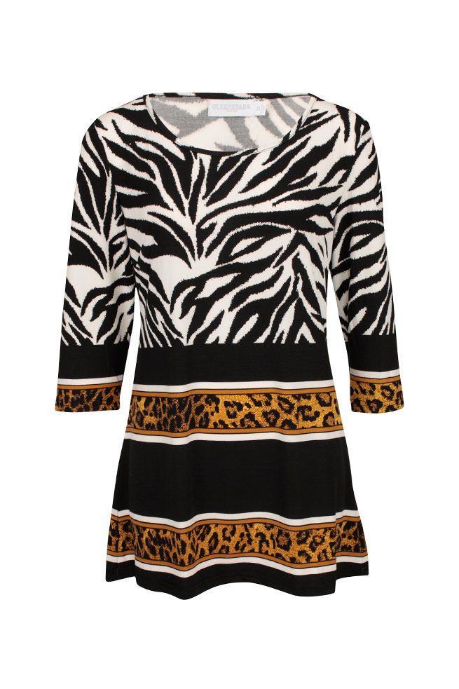 by Queenspark Print Jungle Print Tunic