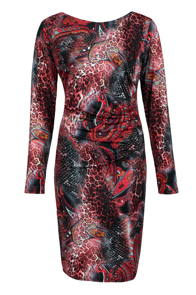 by Queenspark Print Paisley Leo Dress
