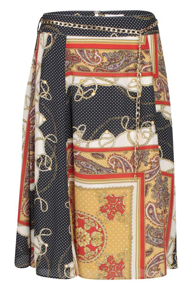 by Queenspark Print Parisian Skirt