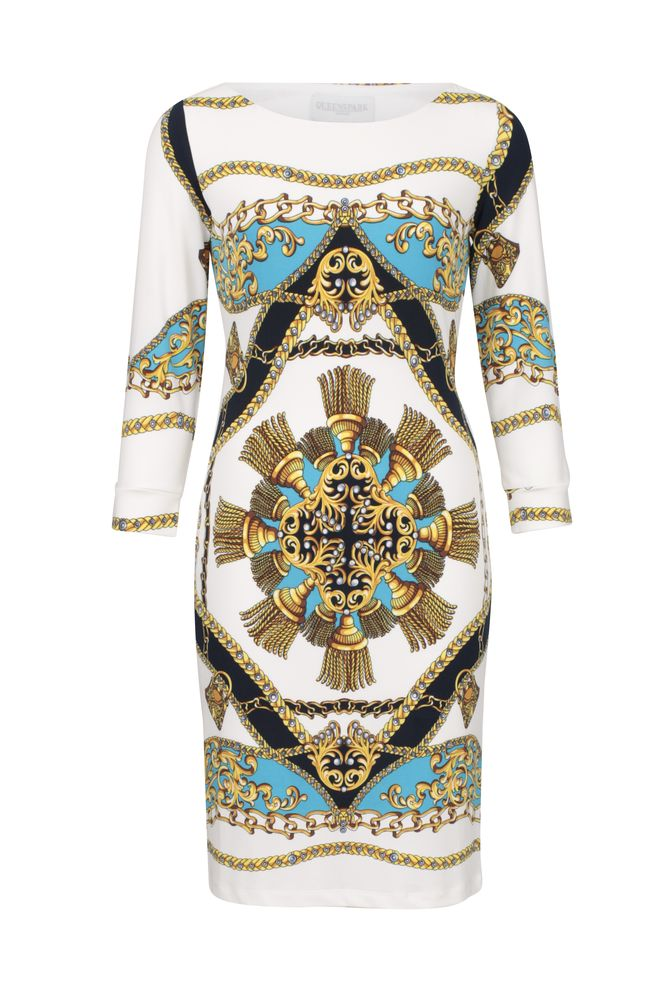 by Queenspark Print Roma Tunic Dress