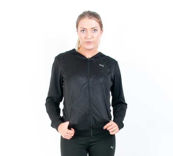 by Puma PUMA Womens Gym Loose Cover Up Jacket