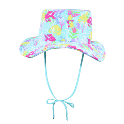 Hat by Cupid Girl Rainbow Reef Hat