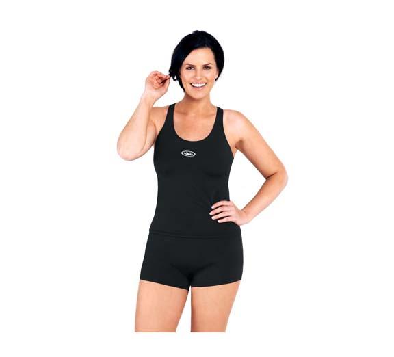 by Rival Swimwear Rival Swimwear Essential Classic Singlet Boyleg