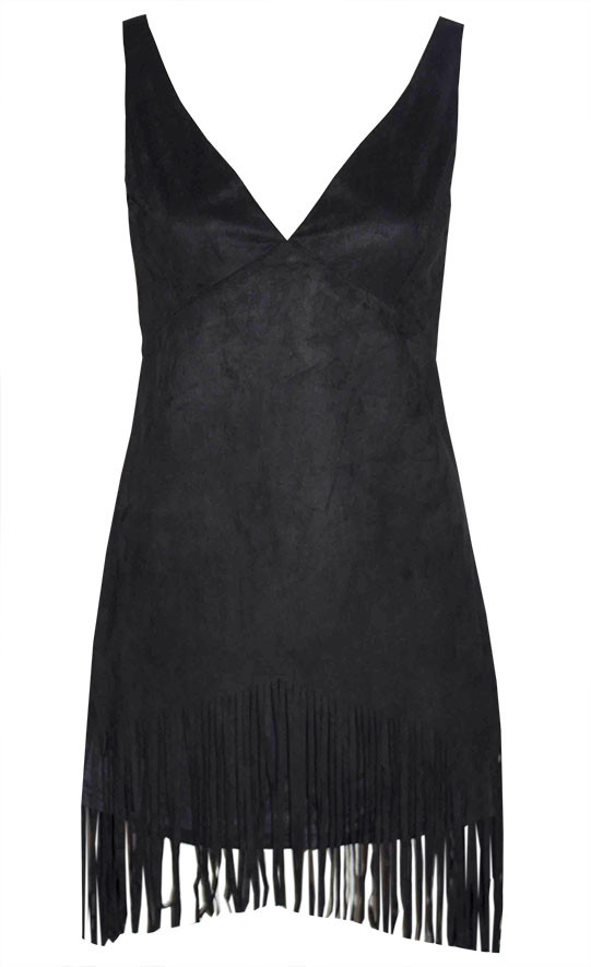 by Little Party Dress Rodeo Black Fringe Dress