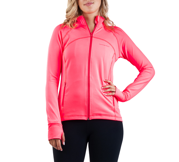 by Running Bare Running Bare Cardio Zip Jacket Marilyn